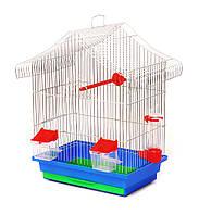 Клетка для попугая Мини  1 цинк 330х230х450 мм