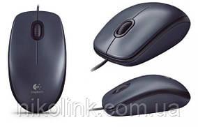 Мышь Logitech M90 Dark, USB (910-001794)