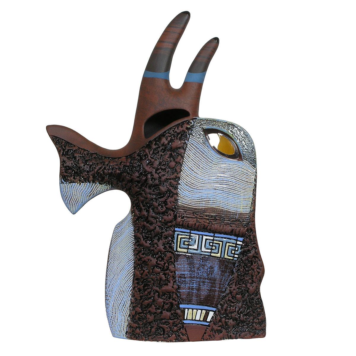 Керамічна статуетка Риба Рогач