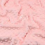 Плюш minky светло-персикового цвета М-11131, фото 6