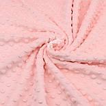 Плюш minky светло-персикового цвета М-11131, фото 3