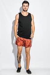 Шорты мужские пляжные однотонные 1316 (Терракотовый)