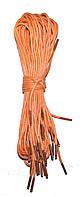 Шнурки Персик пропитанные круглые 70см