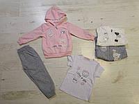 Трикотажный костюм-тройка для девочек оптом,Sincere ,12-36 мес., арт.CJ-1821