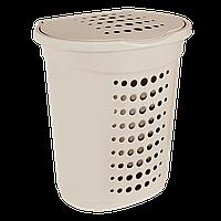 Корзина для белья Алеана 60 л (50х39х58 см)
