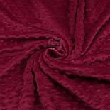 Плюш minky цвет бордо М-11135, фото 3