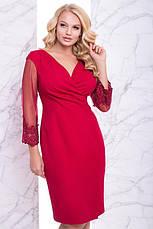 Шикарное романтическое нарядное платье размеры: 50,52,54,56, фото 2