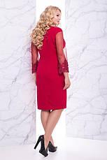 Шикарное романтическое нарядное платье размеры: 50,52,54,56, фото 3