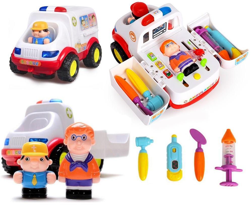 Развивающая игрушка Hola Машина скорой помощи