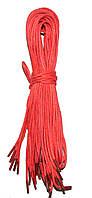 Шнурки Темно розовый пропитанные круглые 70см