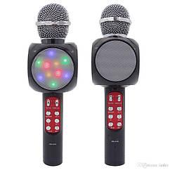 Караоке микрофон WSTER WS-1816 (USB, microSD, AUX, FM, Bluetooth)