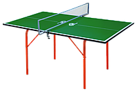 Детский теннисный стол GSI-Sport Junior Зеленый