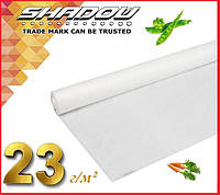 """Белое 4% агроволокно 23 г/м² (10.5 х 100 м.) ТМ """"Shadow"""" (Чехия), фото 1"""