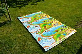 """Игровой коврик для ползания ребенка """"Мадагаскар"""" XL 2000x1200x8мм"""