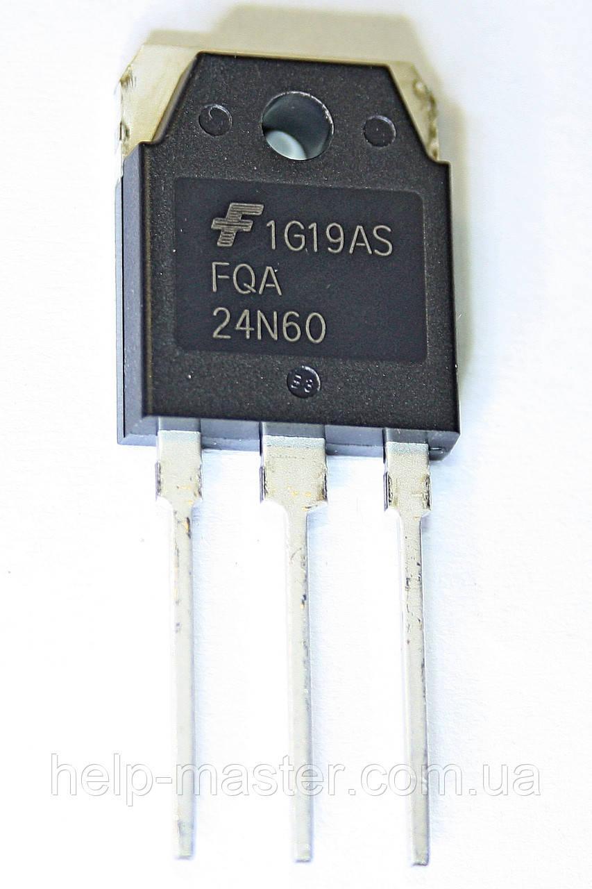 Транзистор FQA24N60 (TO-3PN)