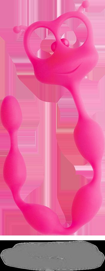 Анальные бусы Flexi Felix Fun Factory розовые