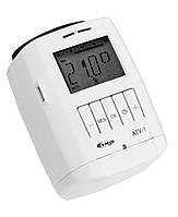 Автономная цифровая термоголовка для радиаторов ATV-1, ELKOep