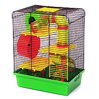 Клетка для грызунов Хомяк 3 люкс краска