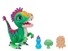 Интерактивная игрушка динозавр Рекс Фуриал Малыш Дино FurReal Friends Munchin' Rex