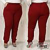 Жіночі брюки з кишенями Батал до 62 р 18039
