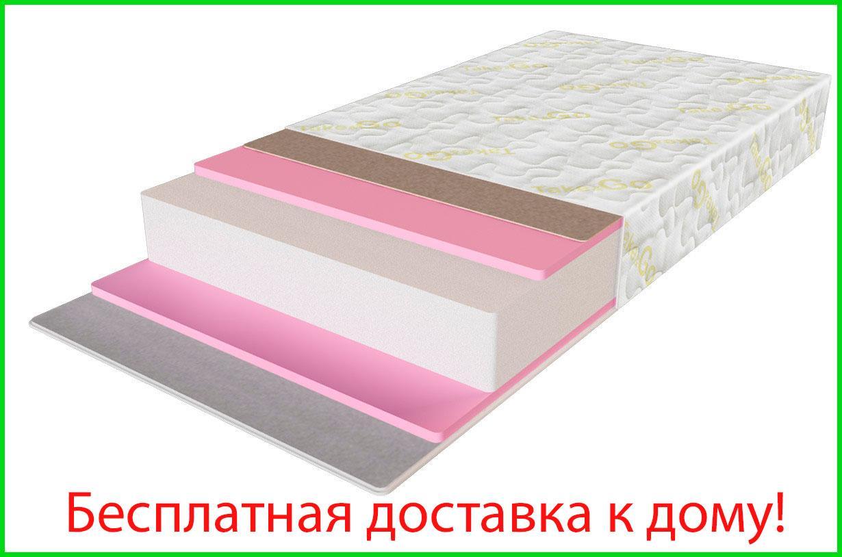 ✅Ортопедический беспружинный матрас Big Roll/Биг ролл 70x190 см. Take&Go
