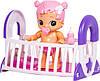 Интерактивный пупс с кроваткой Little Live Bizzy Bubs Bouncing Baby Gracie