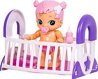 Интерактивный пупс с кроваткой Little Live Bizzy Bubs Bouncing Baby Gracie , фото 1
