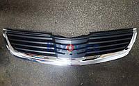 Решетка радиатора Mitsubishi Galant DJ (06-08) EUR/USA (FPS) + хром молдинг