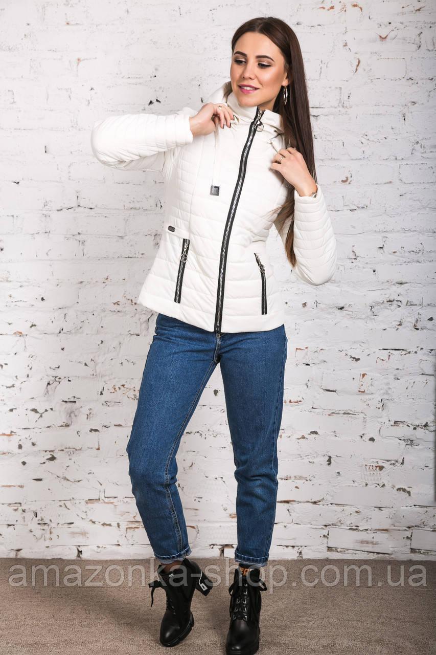 Женская куртка на весну-осень - модель 2019 - (кт-442)