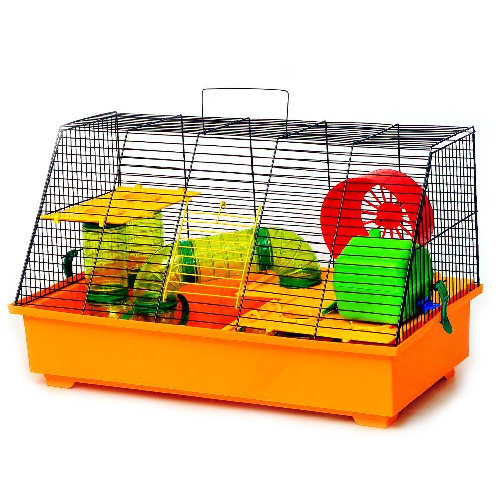 Клетка для грызунов Крыска люкс краска