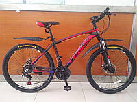 """Скоростной спортивный велосипед хардтейл Сross - Leader 26 """", фото 1"""