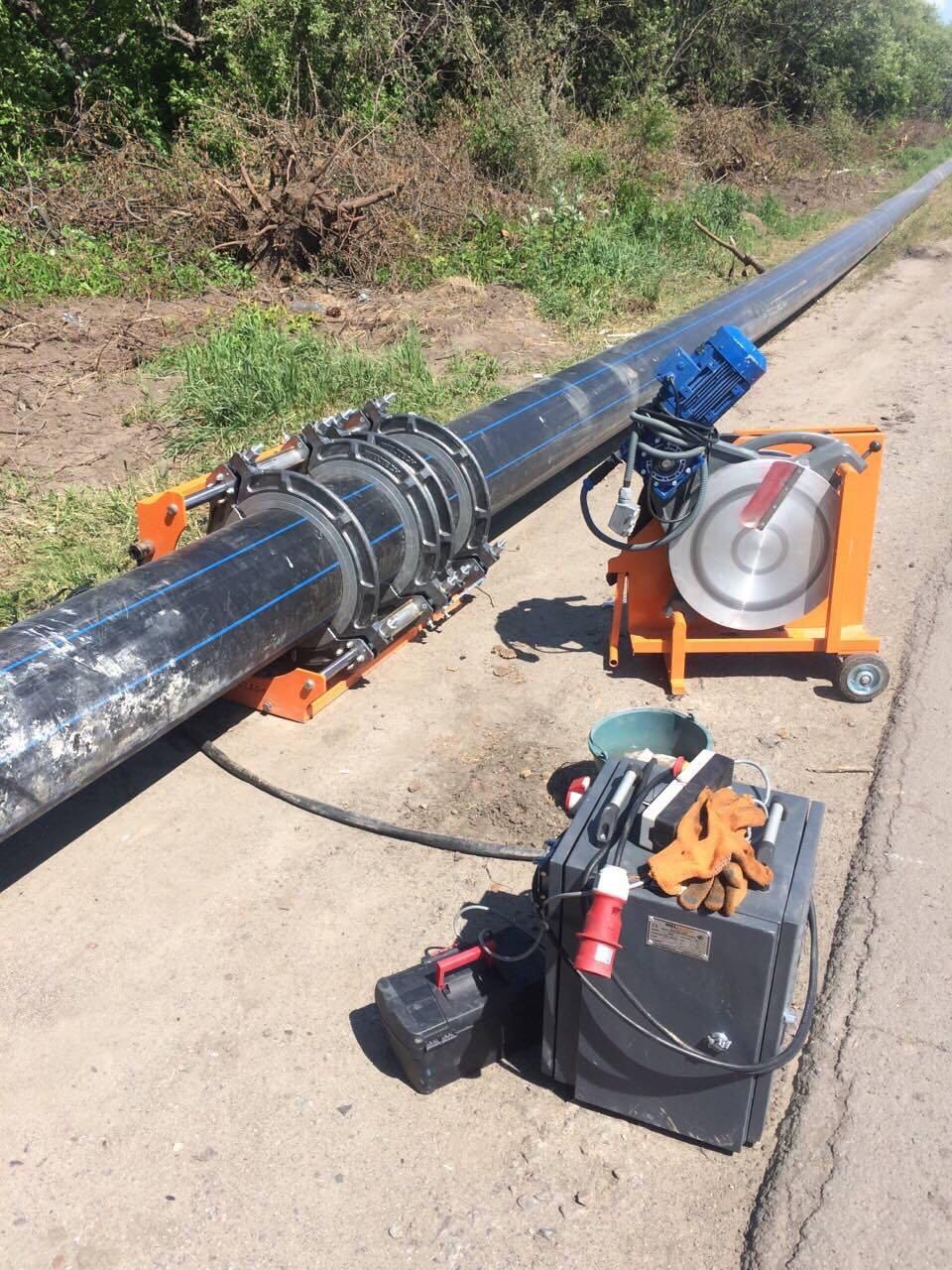 Пайка наружного водопровода