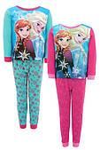 Пижама для девочек Disney оптом, 4-10 лет.
