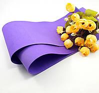 Фоамиран Китай фиолетовый, 1/2 м, 1 мм