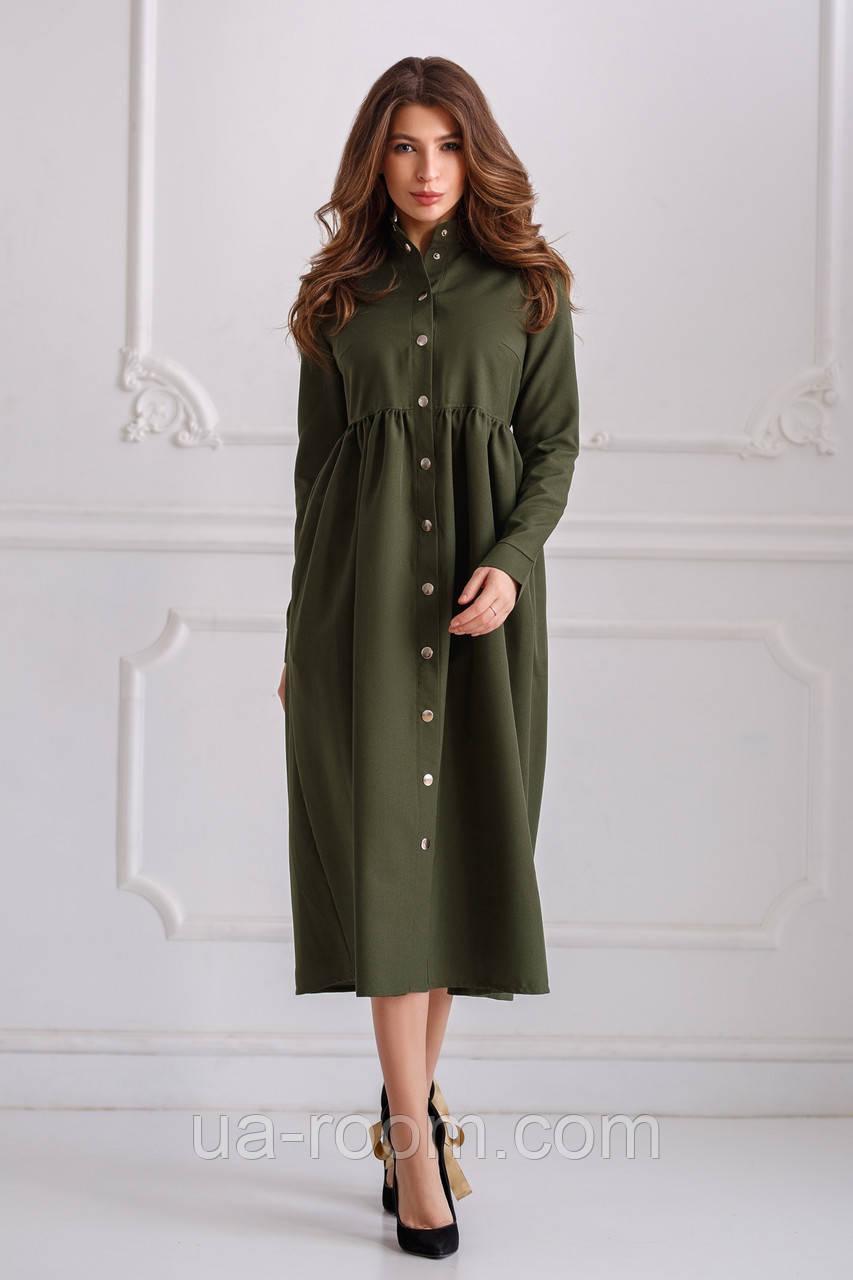 Женское  платье-рубашка  №536