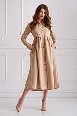 Женское  платье-рубашка  №536, фото 3