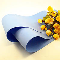 Фоамиран Китай голубой небесный, 1/2 м, 1 мм