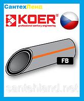 Труба Полипропиленовая Армированная Стекловолокном 40х6.7 PN 20 Koer