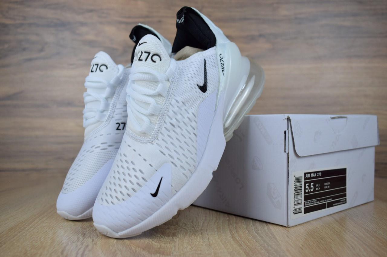 Весенние кроссовки Nike Air Max 270(реплика) 5ea8f226ac750
