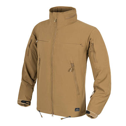 Куртка Cougar QSA™ + HID™ - Soft Shell Windblocker, Helikon - Tex. Новий товар. L, Coyote, фото 2