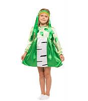 Костюм Березка для девочки 4-8 лет. Детский карнавальный костюм платье Береза 341