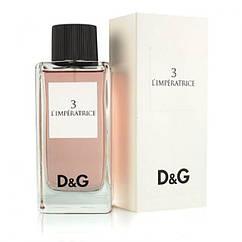 Женская туалетная вода Dolce& Gabbana 3 L'Imperatrice 100 ml, Дольче Габбана 3 Императрица 100 мл, Реплика супер качество
