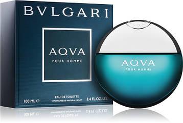 Мужская туалетная вода Bvlgari Aqva Men 100 ml, Бвлгари Аква Мэн 100 мл, Реплика супер качество