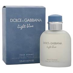 Туалетная вода Dolce& Gabbana light blue 125ml Дольче Габана Реплика супер качество