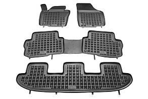 Коврики резиновые для Seat Alhambra od 2010, 7 siedzeń