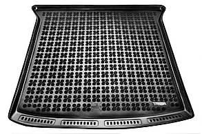 Коврик в багажник на Seat ALHAMBRA Van 7 Сидений  (Сложенный 3-й ряд сидений) 2010-