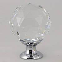 Ручка мебельная стекло 40х35 мм