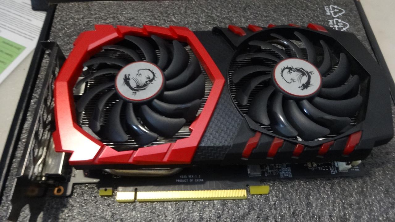 Відеокарта MSI PCI-Ex GeForce GTX 1050 GAMING X 2GB GDDR5 (128bit) (1417/7008)