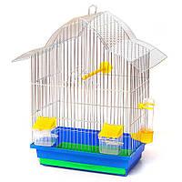 Клітка для папуги Мальва 330х230х450 цинк