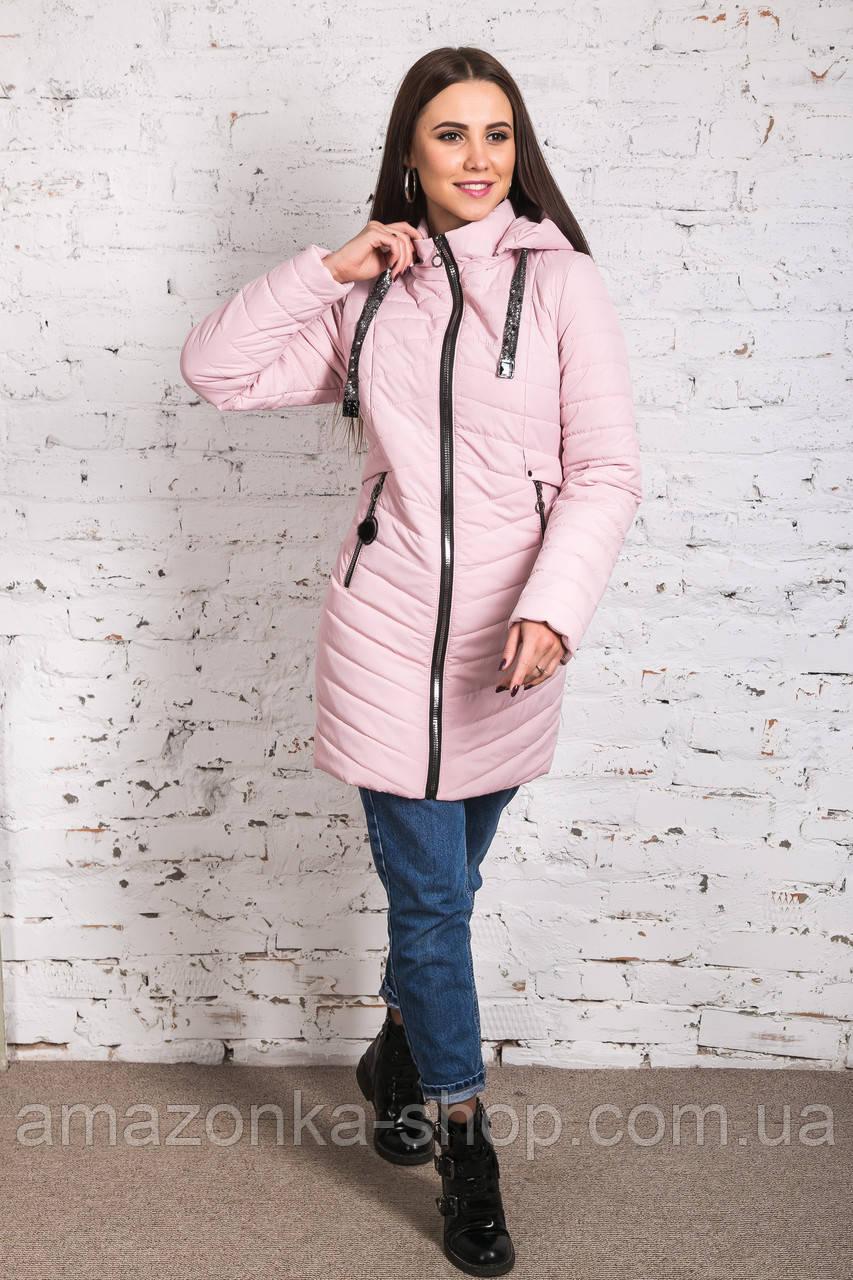 Женское весеннее пальто - модель 2019 - (кт-446)